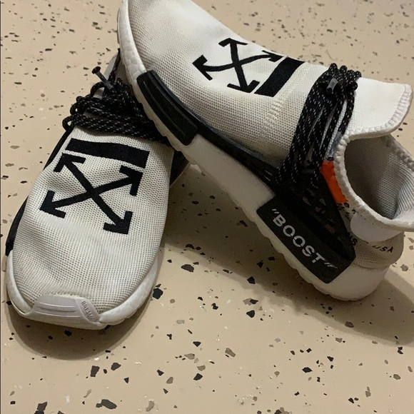 best service b5c2a 2599b Off White Human Race Adidas NMD